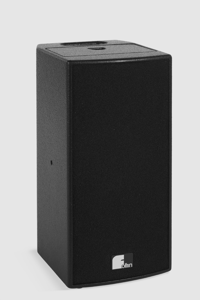 Fohhn, FP-22 modular, Active self-powered speaker system, 60W, 4-channel mixer, black.